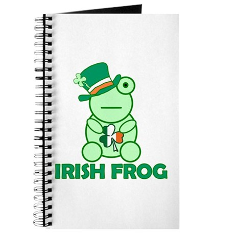 Irish Leprechaun Frog Journal