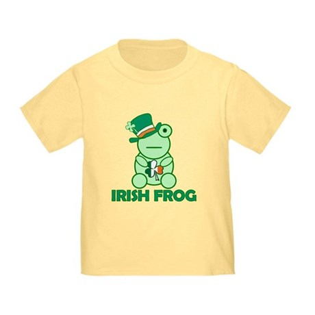 Irish Leprechaun Frog Toddler T-Shirt