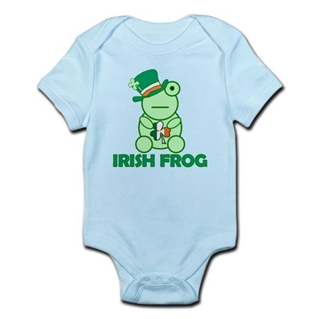 Irish Leprechaun Frog Infant Bodysuit