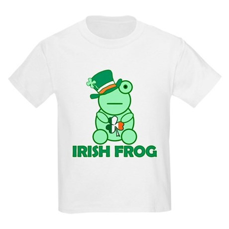 Irish Leprechaun Frog Kids Light T-Shirt