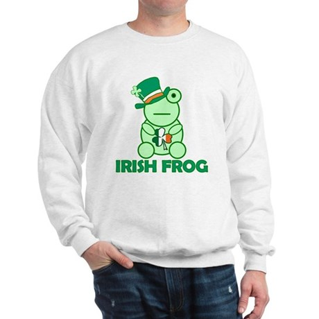Irish Leprechaun Frog Sweatshirt
