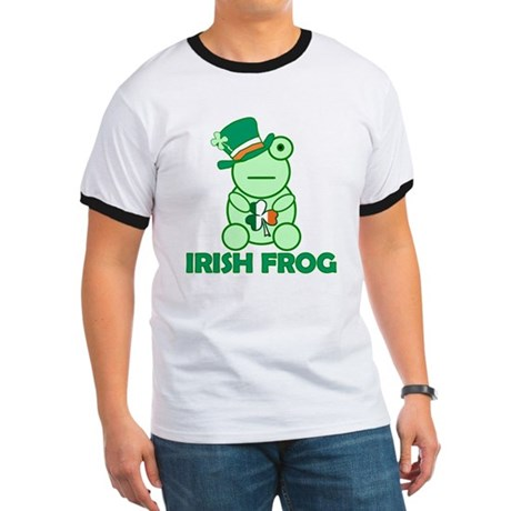 Irish Leprechaun Frog Ringer T