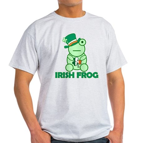 Irish Leprechaun Frog Light T-Shirt
