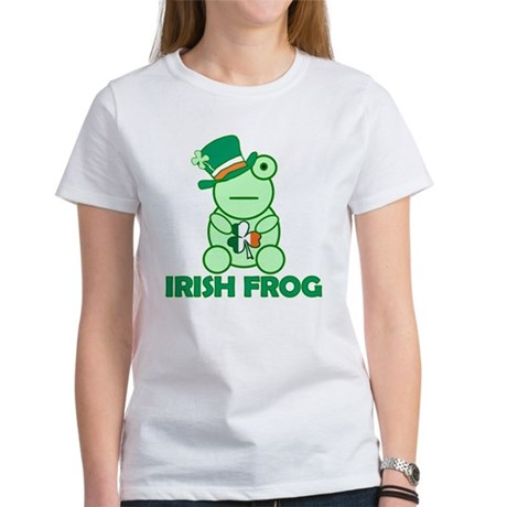 Irish Leprechaun Frog Women's T-Shirt