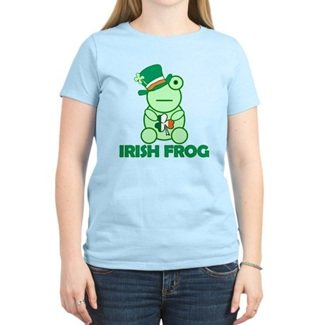 Irish Leprechaun Frog Women's Light T-Shirt