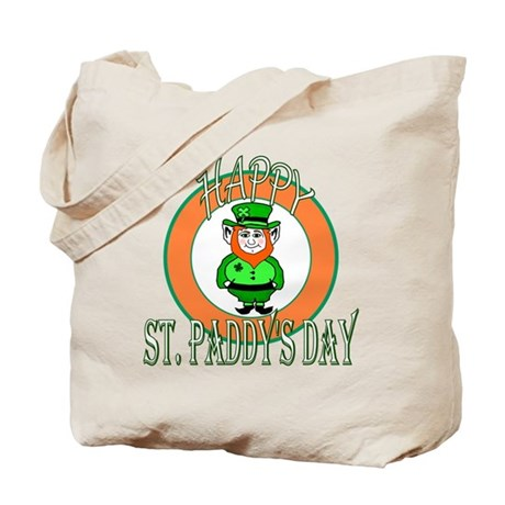 Leprechaun Happy St Paddy's Tote Bag