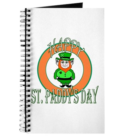Leprechaun Happy St Paddy's Journal