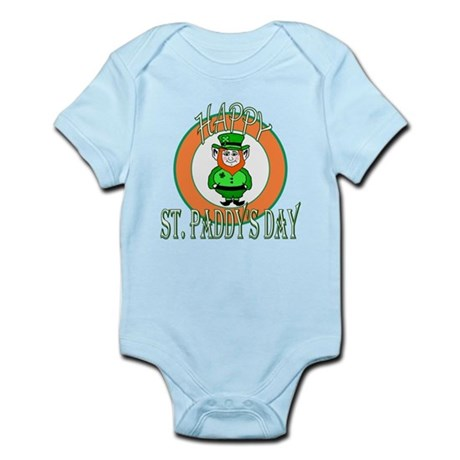Leprechaun Happy St Paddy's Infant Bodysuit