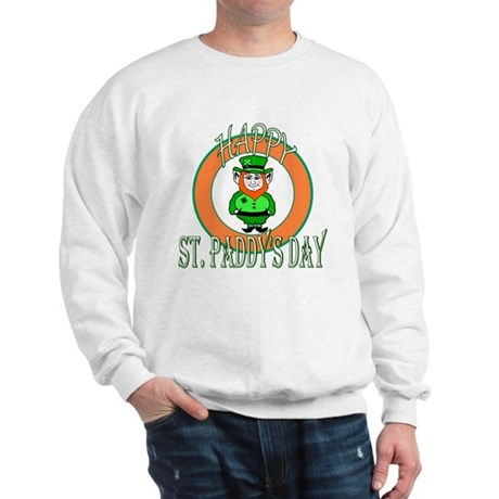 Leprechaun Happy St Paddy's Sweatshirt