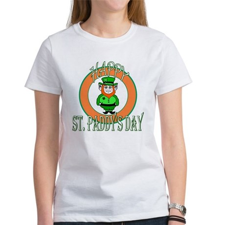 Leprechaun Happy St Paddy's Women's T-Shirt