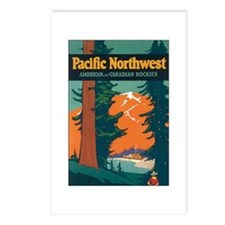 Vintage Pacific NW Postcards (Package of 8)