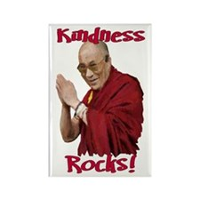 H.H. the Dalai Lama Rectangle Magnet (10 pack)