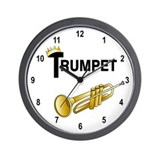 Royal Trumpet Wall Clock