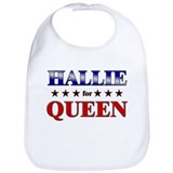 HALLIE for queen Bib