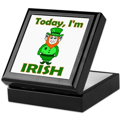 Today I'm Irish Keepsake Box