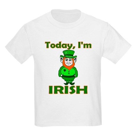 Today I'm Irish Kids Light T-Shirt