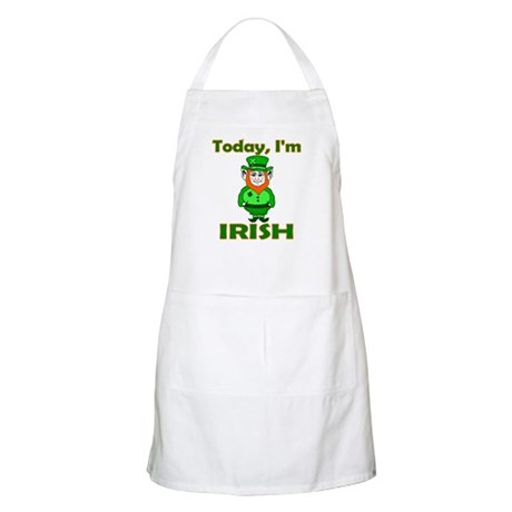 Today I'm Irish BBQ Apron