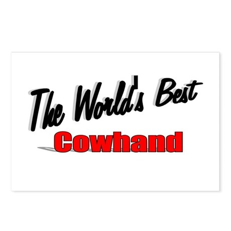 """The World's Best Cowhand"" Postcards (Package of 8"