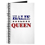 HALIE for queen Journal
