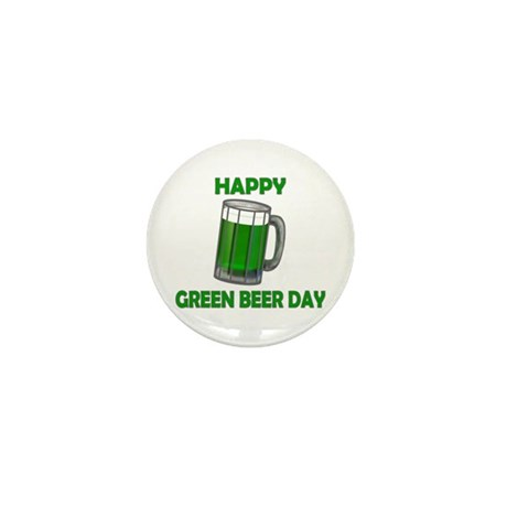 Green Beer Day Mini Button (10 pack)