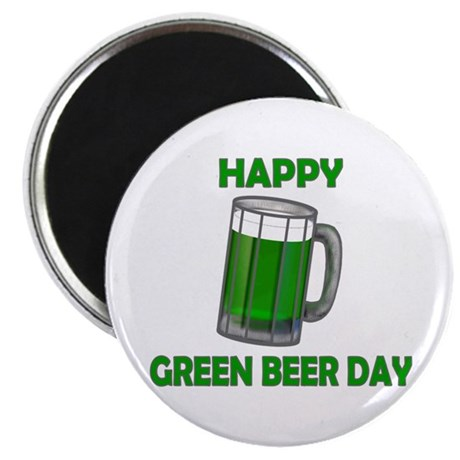 Green Beer Day Magnet