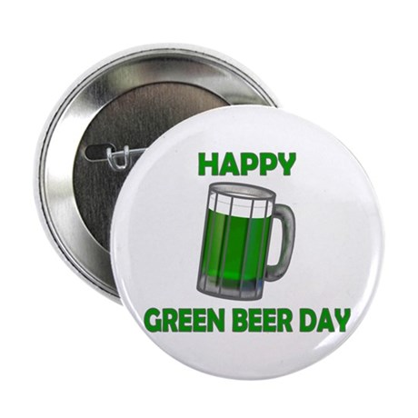 "Green Beer Day 2.25"" Button (10 pack)"
