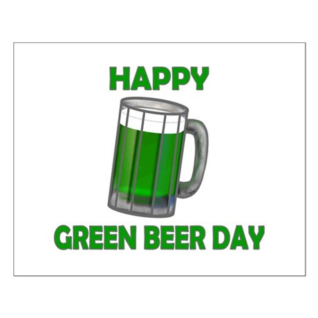 Green Beer Day Small Poster