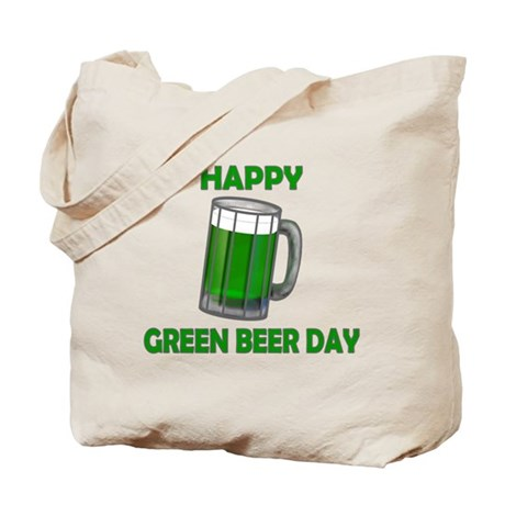Green Beer Day Tote Bag