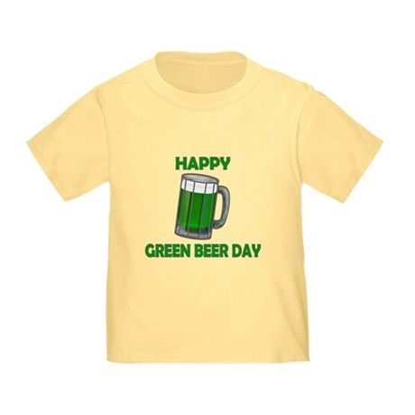 Green Beer Day Toddler T-Shirt
