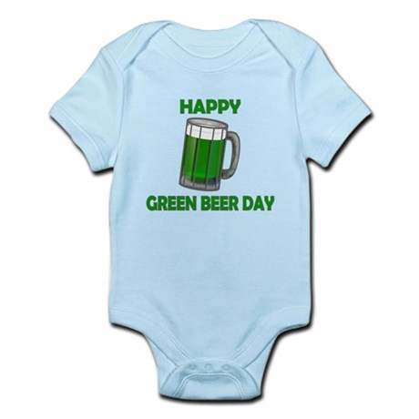 Green Beer Day Infant Bodysuit