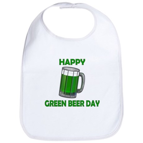Green Beer Day Bib