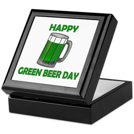 Green Beer Day Keepsake Box