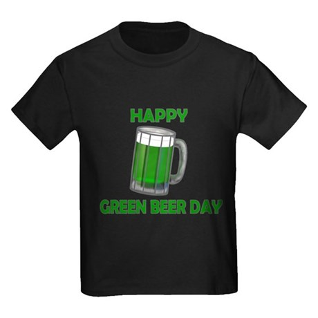 Green Beer Day Kids Dark T-Shirt