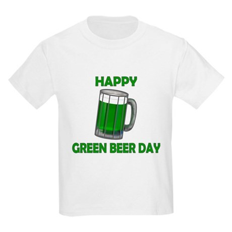 Green Beer Day Kids Light T-Shirt