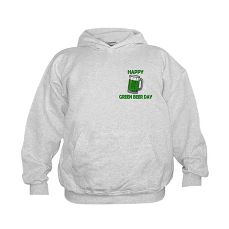 Green Beer Day Kids Hoodie