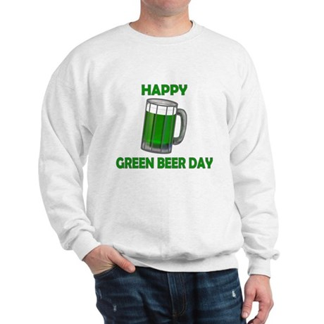 Green Beer Day Sweatshirt