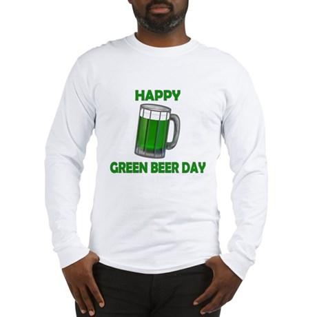 Green Beer Day Long Sleeve T-Shirt
