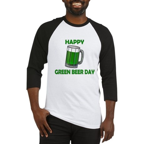 Green Beer Day Baseball Jersey