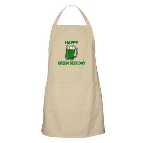 Green Beer Day BBQ Apron
