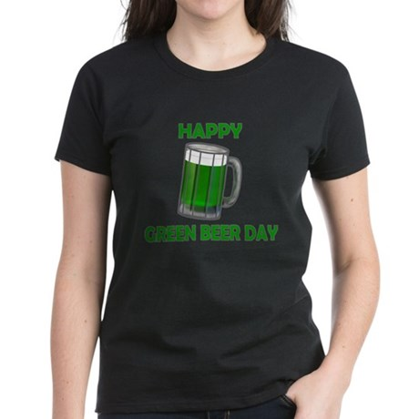 Green Beer Day Women's Dark T-Shirt