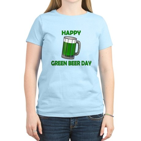 Green Beer Day Women's Light T-Shirt