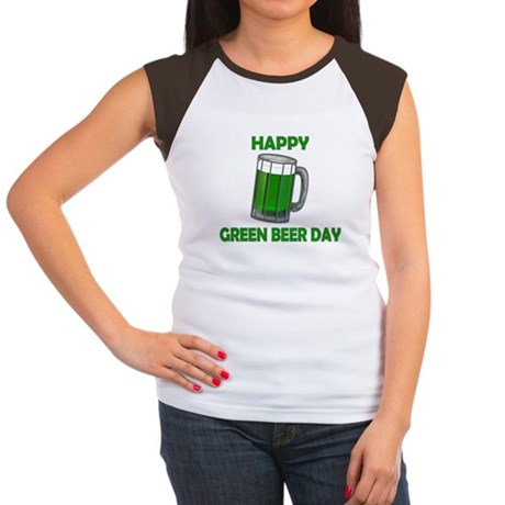 Green Beer Day Women's Cap Sleeve T-Shirt