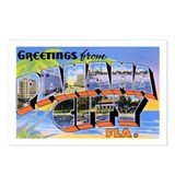 Panama City Florida Greetings Postcards (Package o