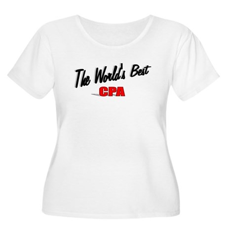 &quot;The World's Best CPA&quot; Women's Plus Size Scoop Nec