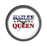 HAILEE for queen Wall Clock