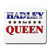 HADLEY for queen Mousepad