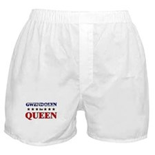 GWENDOLYN for queen Boxer Shorts