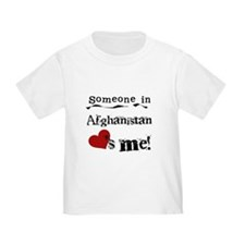 Afghanistan Loves Me T