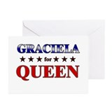 GRACIELA for queen Greeting Cards (Pk of 10)