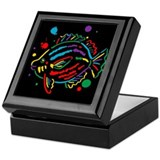 Drip Fish Keepsake Box